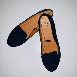 H&M Navy Blue Loafers